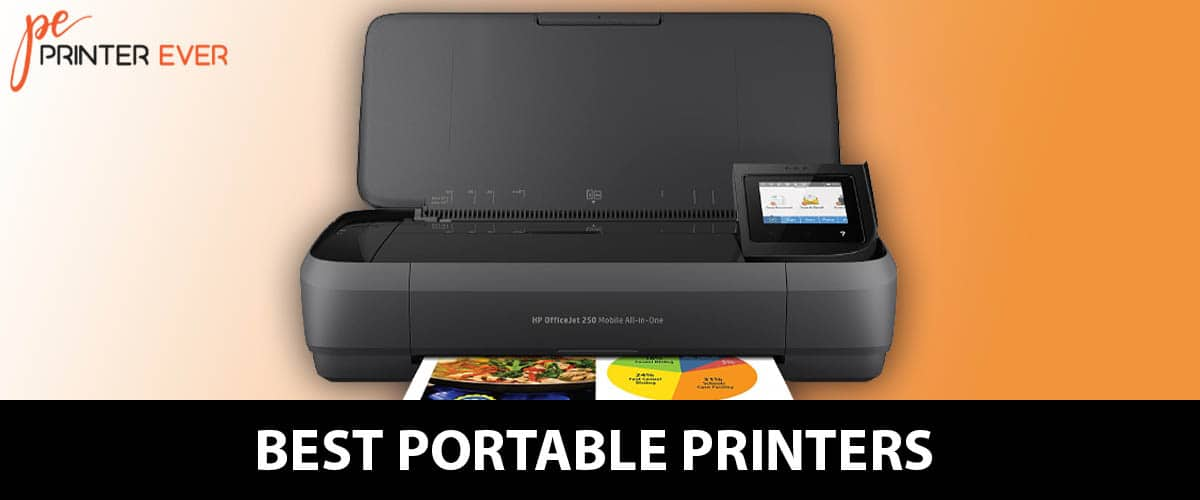 Best Portable Printers of [ Apr 2021 ]
