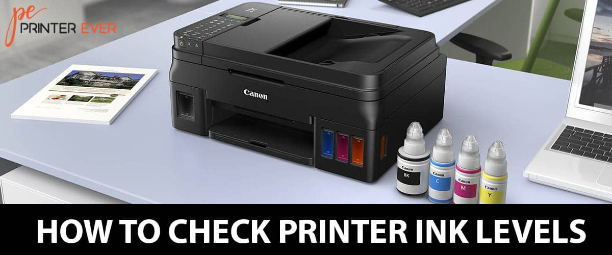 How To Check Printer Ink Levels