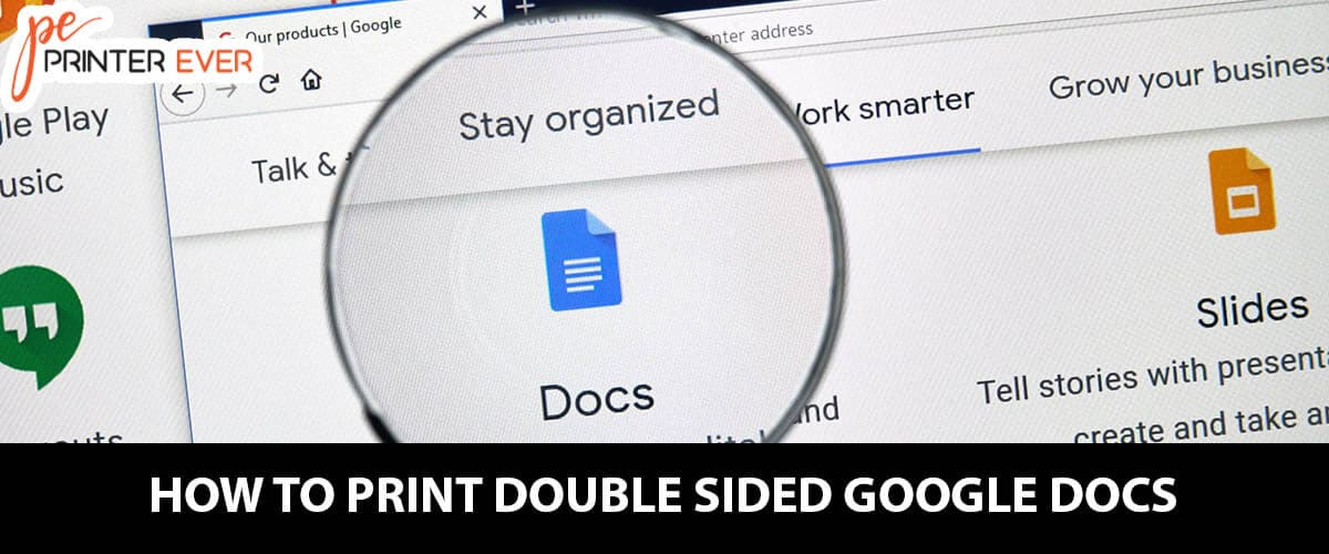 How to Print Double Sided Google Docs – Step by Step Guide
