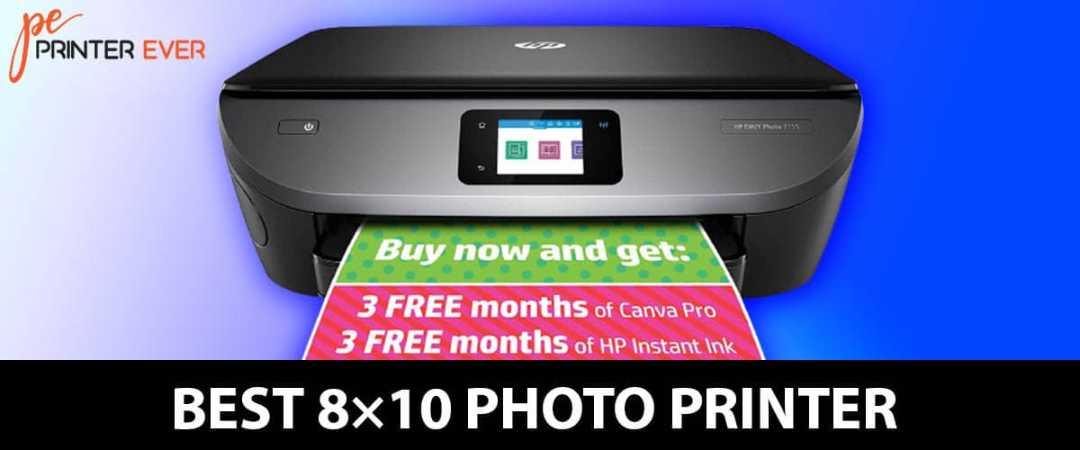 The Best 8×10 Photo Printer In [Apr 2021]