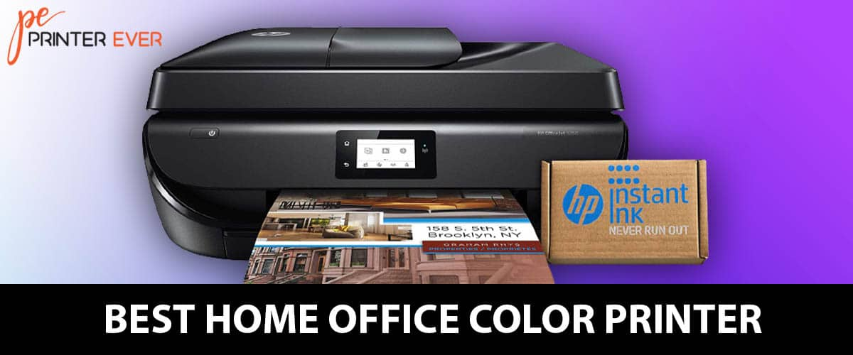 Best Home Office Color Printer Those Working From Home.
