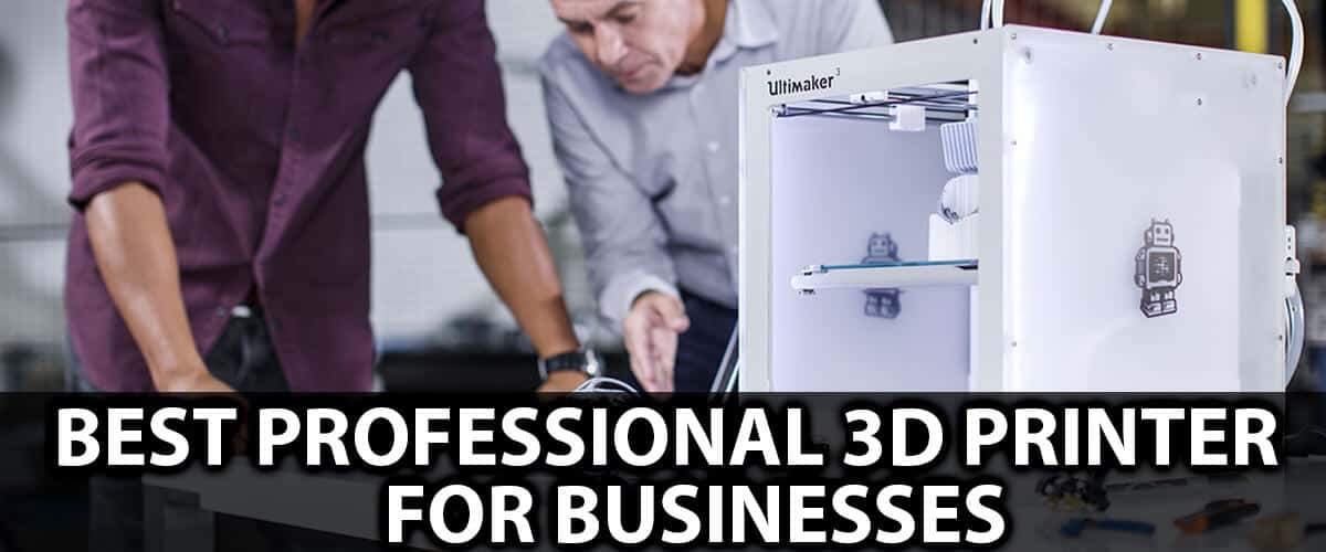 Best Professional 3d Printer For Businesses Top Product in 2021