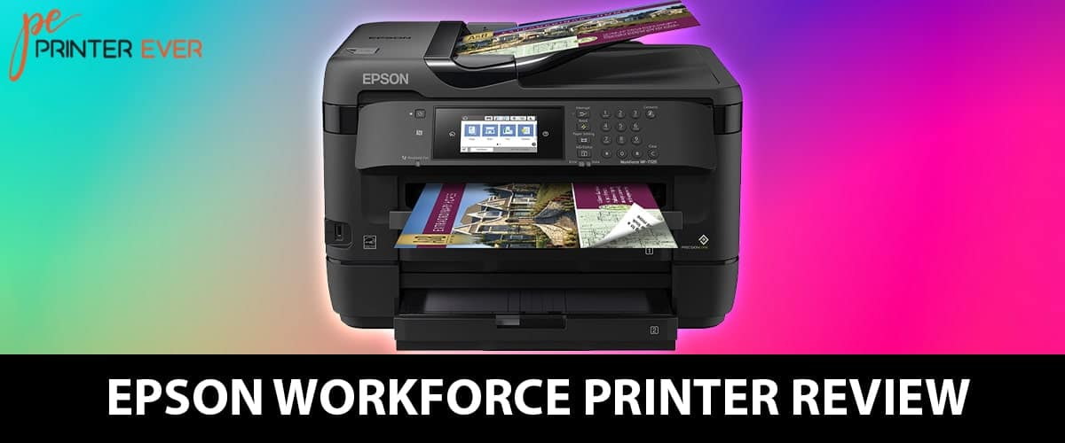 Epson Workforce Printer Review – Best Wireless Wide Format