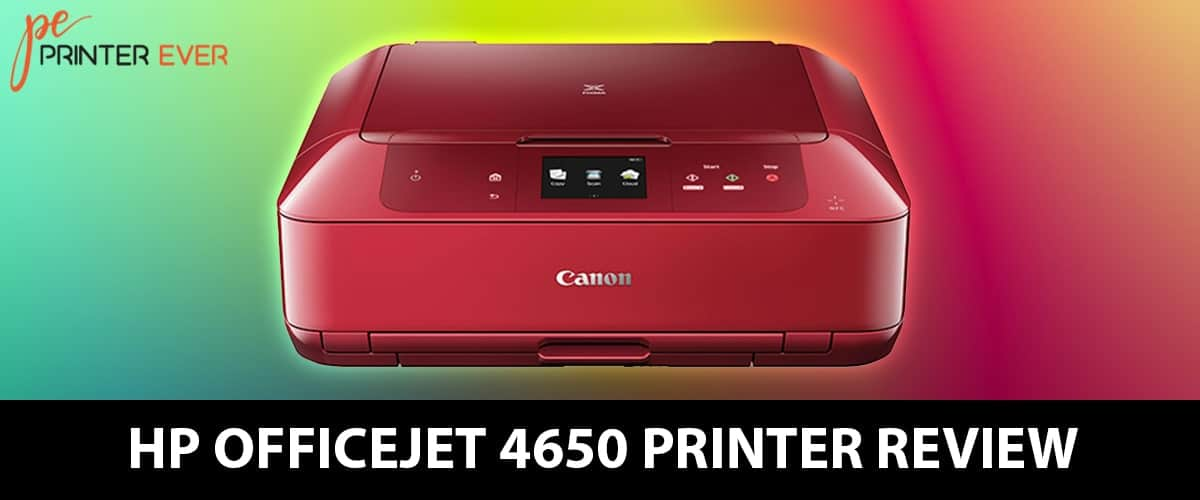 Hp Officejet 4650 All In One Printer Review [Apr 2021]
