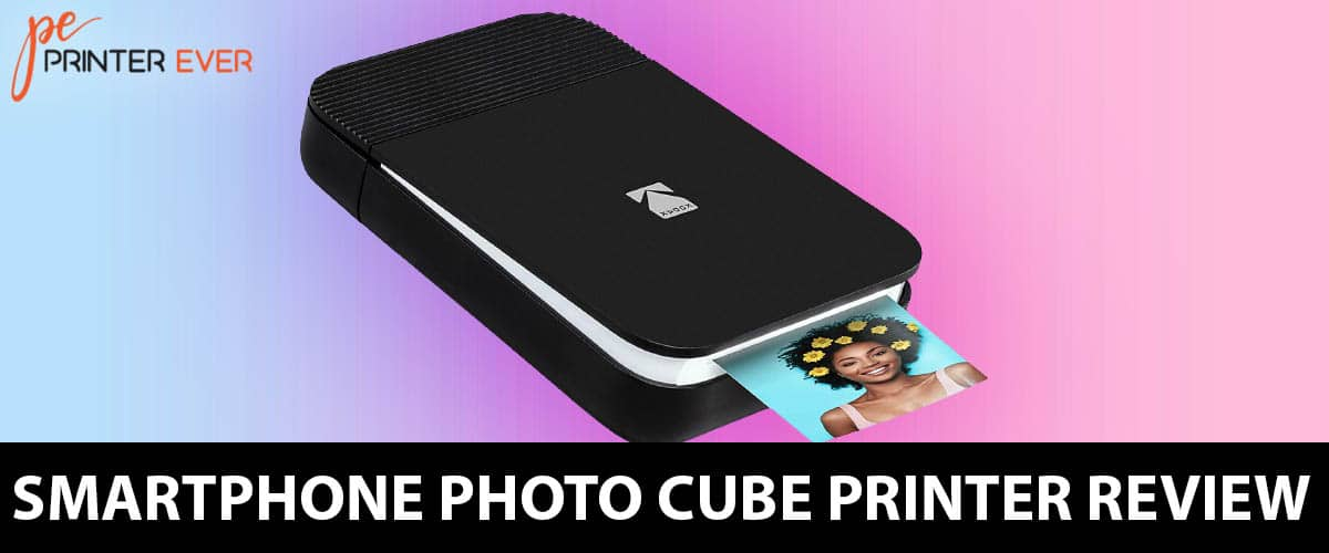 Smartphone Photo Cube Printer Review