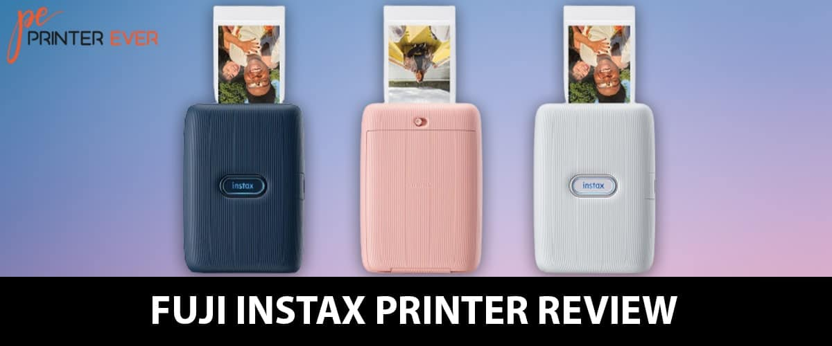 Fuji Instax Printer Review