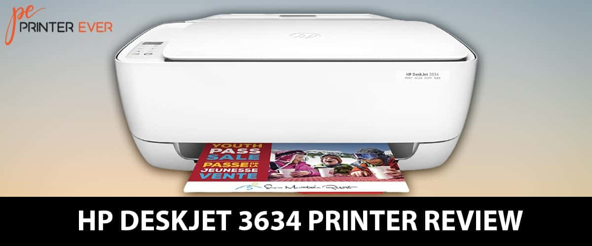 Hp Deskjet 3634 Printer Review – Best Compact Printer in 2021