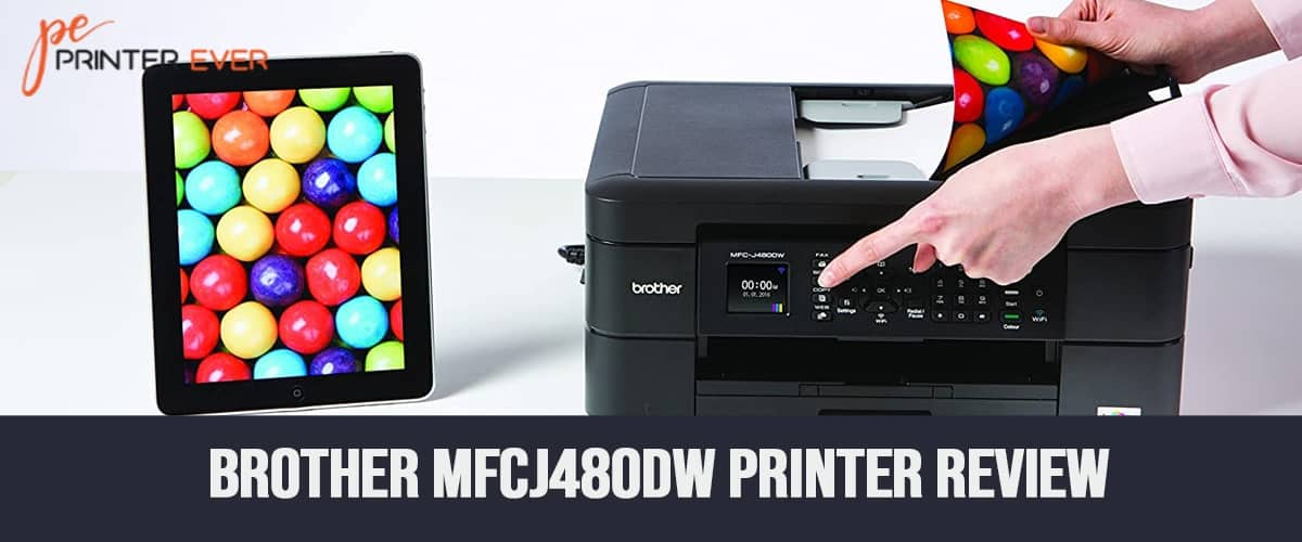 Brother mfcj480dw Printer Review