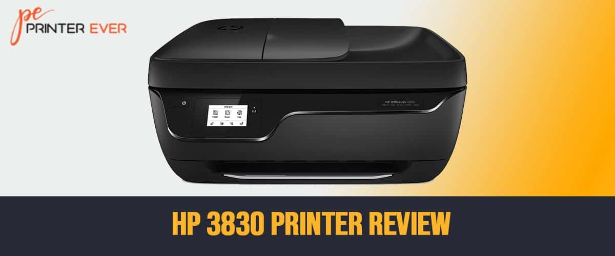 HP 3830 Printer Review – Quick Action is its Second Name!
