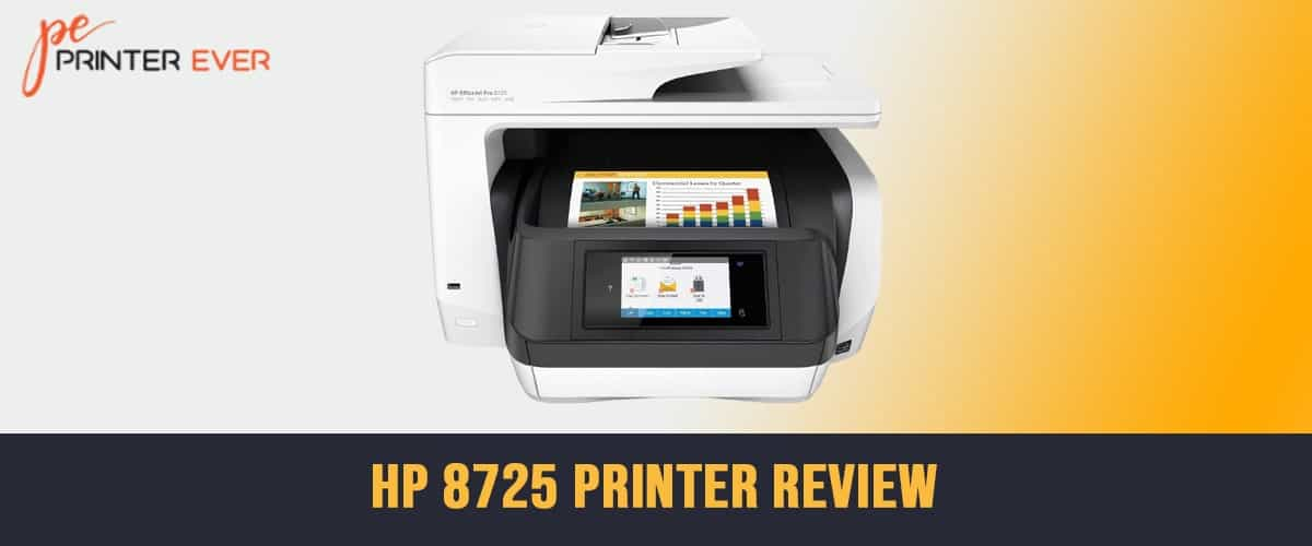 HP 8725 Printer Review – Finest Printer with Speed Printing