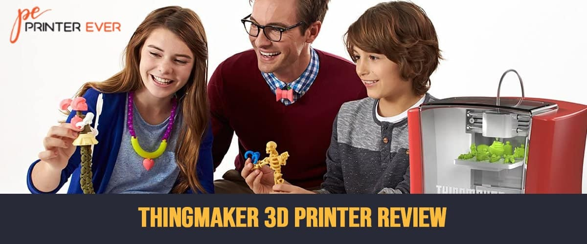 Thingmaker 3D Printer Review | You Will Not Regret buying this Printer.