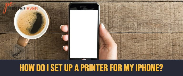 How Do I Set Up a Printer for My Iphone