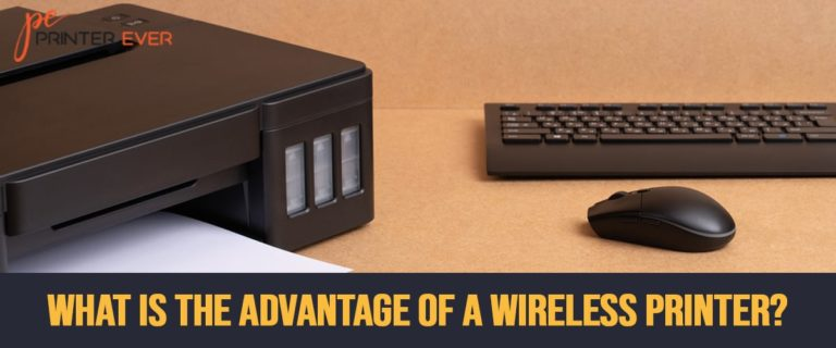 What Is The Advantage Of A Wireless Printer