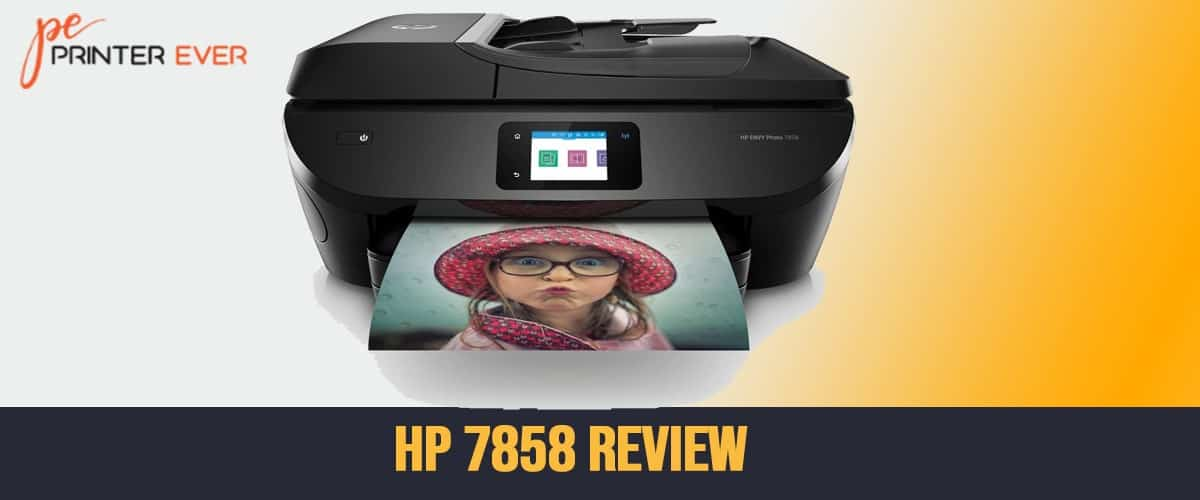 HP 7858 All-in-One Printer Review 2021