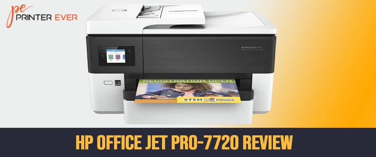 Hp Office Jet Pro-7720 in Depth Review 2021